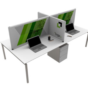 Fabric Desk Divider